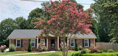 Kernersville Single Family Home Due Diligence Period: 1525 Kerner Road