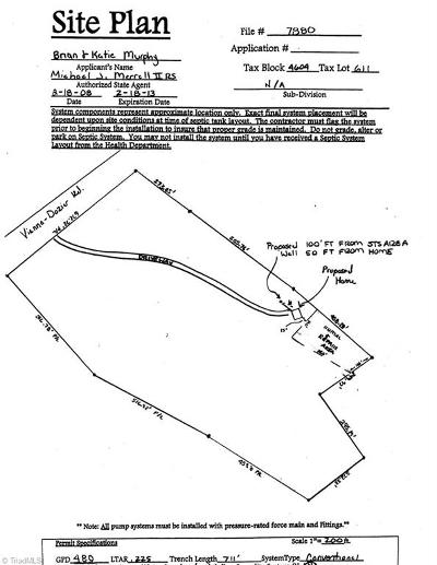 Pfafftown Residential Lots & Land For Sale: 3129 Vienna Dozier Road