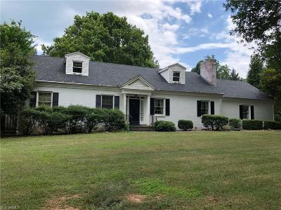 Reidsville Single Family Home For Sale: 1929 Richardson Drive