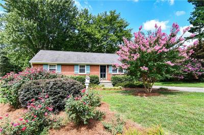 Greensboro Single Family Home For Sale: 3111 Canterbury Street