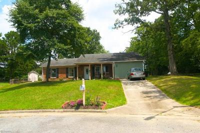 Greensboro Single Family Home For Sale: 2 Judkins Court