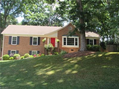 Winston Salem Single Family Home For Sale: 1200 Retreat Lane