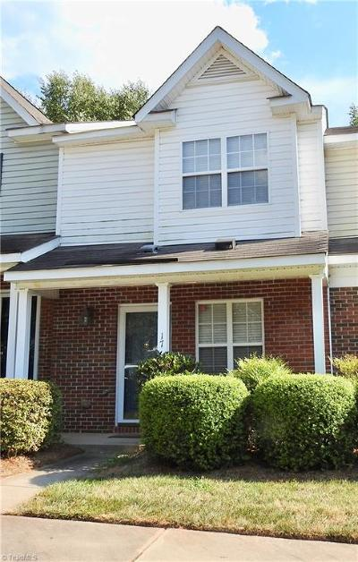 Greensboro Condo/Townhouse For Sale: 17 Sidney Marie Court