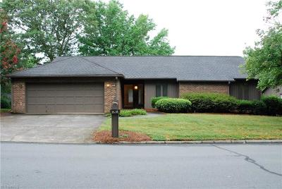 Winston Salem Single Family Home For Sale: 408 Ridgehaven Drive