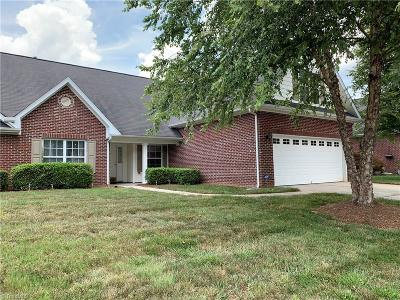 Kernersville NC Condo/Townhouse For Sale: $205,000