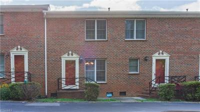 Asheboro Condo/Townhouse For Sale: 612 Sunset Avenue