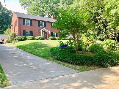 Winston Salem Single Family Home For Sale: 1837 Runnymede Road