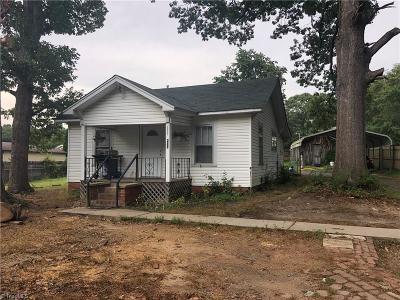 Asheboro Single Family Home For Sale: 413 Jordan Street