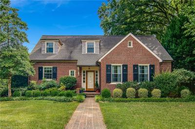 Winston Salem Single Family Home For Sale: 2310 Buena Vista Road