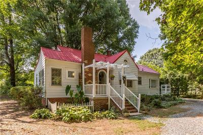 Kernersville Single Family Home Due Diligence Period: 2910 S Nc Highway 66 S