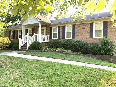 Clemmons Single Family Home For Sale: 6900 Millbridge Road