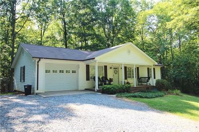 Asheboro Single Family Home Due Diligence Period: 747 Mountain View Church Road