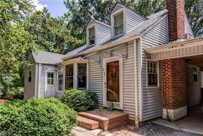 Winston Salem, Clemmons, Lewisville Single Family Home For Sale: 5130 Robinhood Road