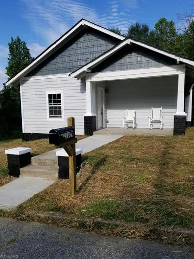 High Point Single Family Home For Sale: 1109 Worth Street