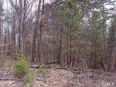 Caswell County Residential Lots & Land For Sale: Country Lane Country Lane