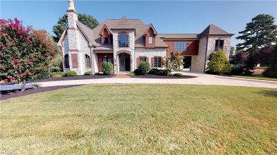 Kernersville NC Single Family Home For Sale: $925,000