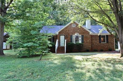 Alamance County Single Family Home Due Diligence Period: 1249 Skyview Drive