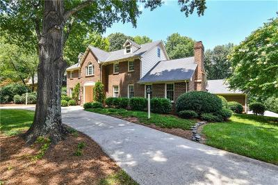 Guilford County Single Family Home For Sale: 600 Willoughby Boulevard
