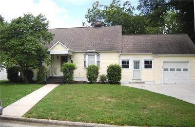 Kernersville Single Family Home Due Diligence Period: 717 Carter Street