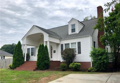 Rockingham County Single Family Home For Sale: 404 W Academy Street