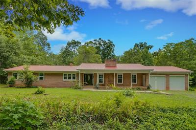 Asheboro Single Family Home For Sale: 542 Mt Shepherd Road
