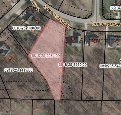 Winston Salem Residential Lots & Land For Sale: 5022 Cobblestone Road