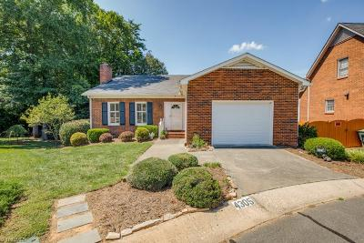 Winston Salem Single Family Home For Sale: 4305 Hampton Club Court
