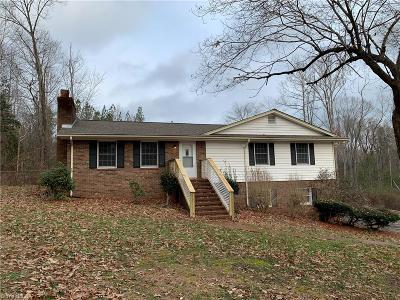 Asheboro Single Family Home For Sale: 4147 Nc Highway 42 S
