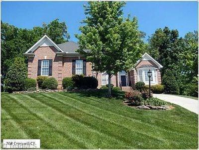 Whitsett Single Family Home For Sale: 708 Croswell Court