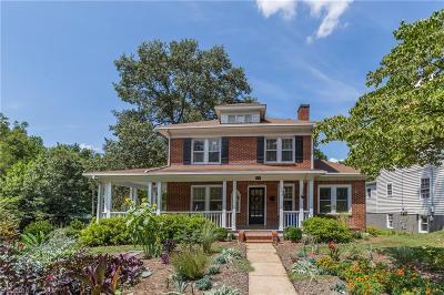 Winston Salem Single Family Home For Sale: 1244 S Hawthorne Road