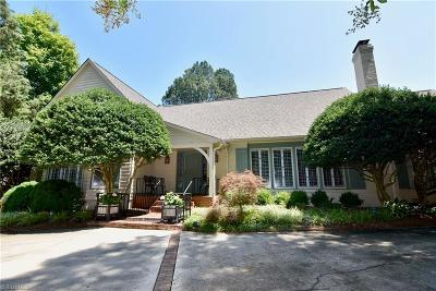 Forsyth County Single Family Home For Sale: 115 Westview Drive N