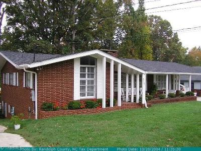 Asheboro Single Family Home Due Diligence Period: 315 Old Liberty Road
