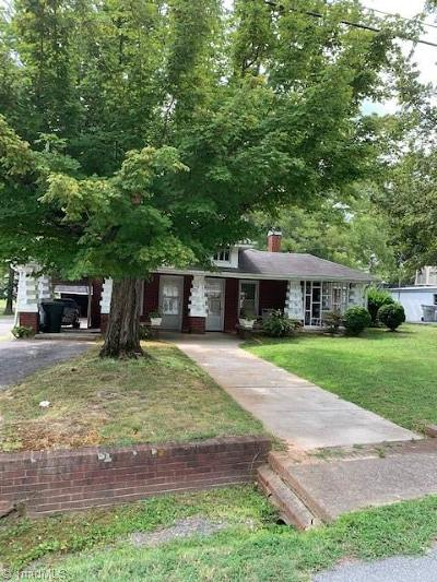Asheboro Single Family Home For Sale: 314 Old Liberty Road