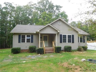 Asheboro Single Family Home For Sale: 3536 Midway Acres Road