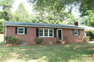 Rural Hall Single Family Home For Sale: 6119 Germanton Road