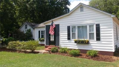Guilford County Single Family Home For Sale: 2451 And 2457 Huffine Mill Road