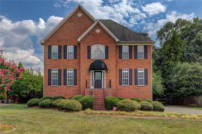 Kernersville Single Family Home For Sale: 1160 Clyde Edgerton Drive