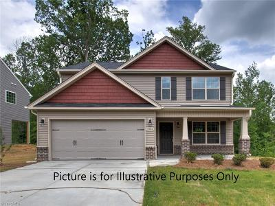 Greensboro Single Family Home For Sale: 1932 Rubywood Street #Lot 266