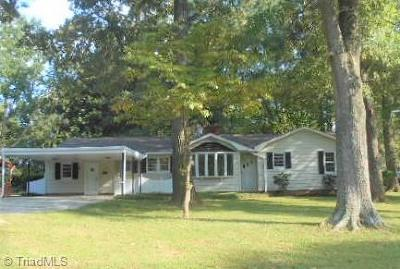Rockingham County Single Family Home For Sale: 1130 Trogdon Drive