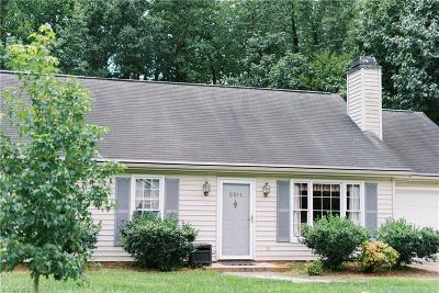Greensboro Single Family Home Due Diligence Period: 5511 Pebble Garden Court