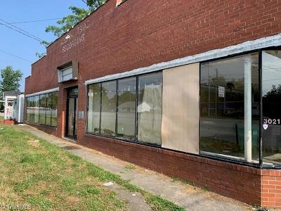 High Point Commercial For Sale: 3021 English Road