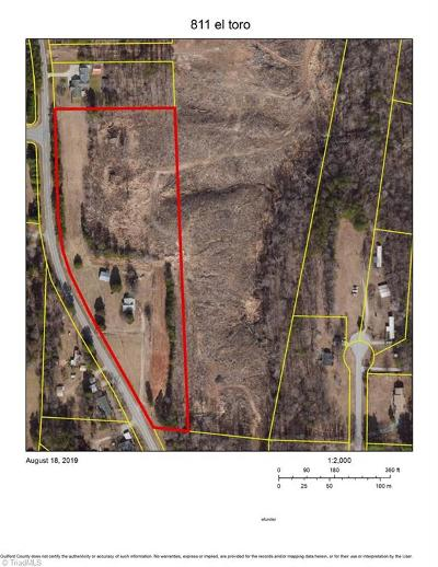 Guilford County Residential Lots & Land For Sale: 826 Crosscreek Road #Crosscre