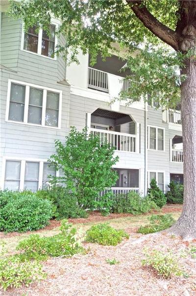 Winston Salem Condo/Townhouse For Sale: 241 Oakwood Court