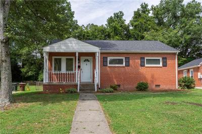 Greensboro NC Single Family Home For Sale: $128,900