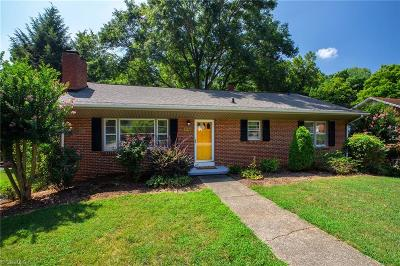 Winston Salem Single Family Home For Sale: 1718 Lancelot Lane