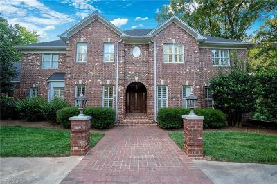 Asheboro Single Family Home For Sale: 1619 Tudor Drive