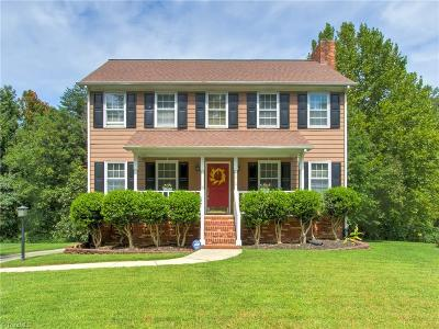 Greensboro Single Family Home For Sale: 5610 Watercrest Drive
