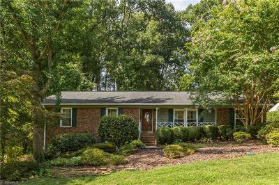 Greensboro Single Family Home For Sale: 1603 Ilchester Court