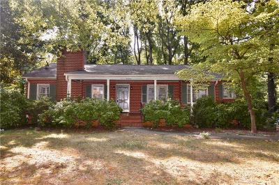 Winston Salem Single Family Home For Sale: 1227 Huntingdon Road
