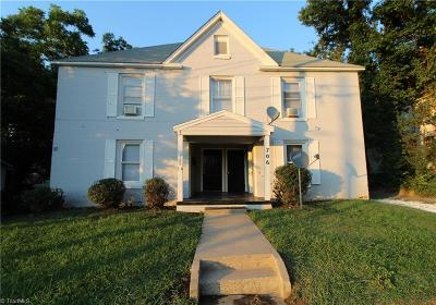 Alamance County Multi Family Home For Sale: 706 Maple Avenue